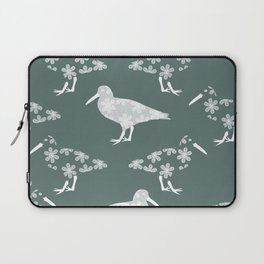 White Birds of a Feather Laptop Sleeve
