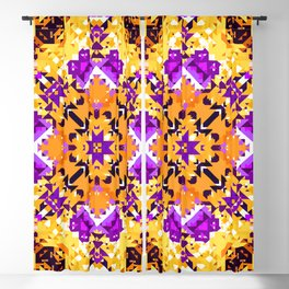Abstract Design Blackout Curtain