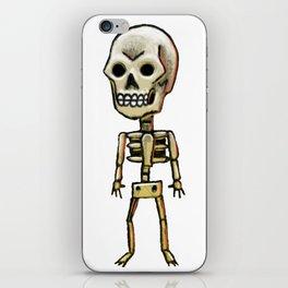 Lonely skull iPhone Skin