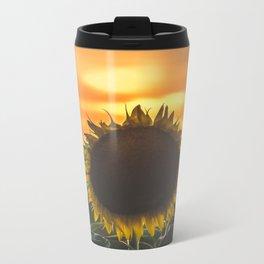 Sunflower 1 Metal Travel Mug