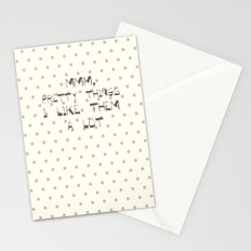 MMM, PRETTY THINGS .... Stationery Cards