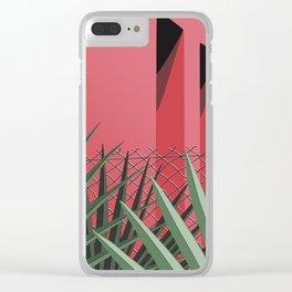 In Tropics Clear iPhone Case