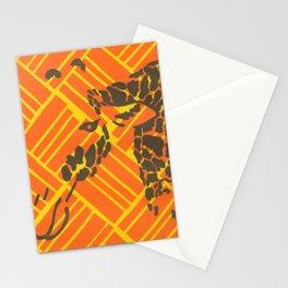 Screenprinted Giraffe Stationery Cards
