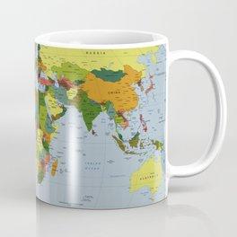 Map of The World (1998) Coffee Mug