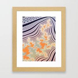 Lichtenberg Figure Framed Art Print