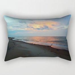 PEI Sandy Beach Sunset Rectangular Pillow
