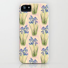 Bluebell Meadow iPhone Case
