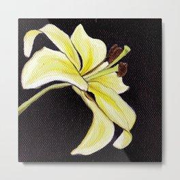 Small Lily Metal Print
