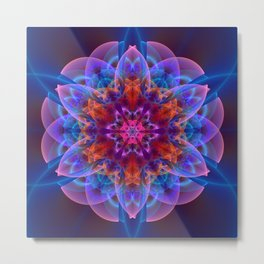 The power of one Flower Metal Print