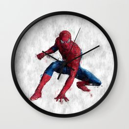Spider Man Hero Wall Clock