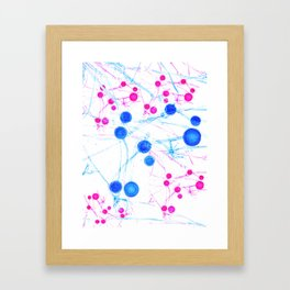 BrainStorm Pure Framed Art Print