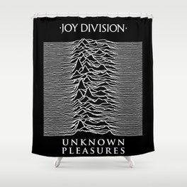 The Line Of Division Shower Curtain