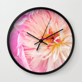 Bowl of Beauty Wall Clock