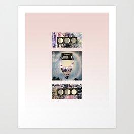 Étoiles Art Print