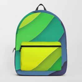 Colorful paper for background Backpack