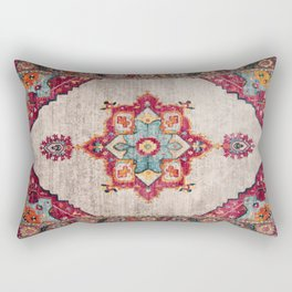 N251 - Oriental Traditional Vintage Moroccan Style  Rectangular Pillow