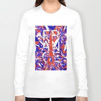 france Long Sleeve T-shirts featuring France by Danny Ivan