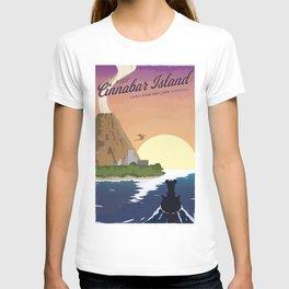 Cinnabar Island Travel Poster T-shirt