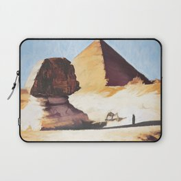 The Great Sphinx And Pyramid Laptop Sleeve