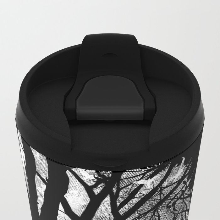 Nature Stripes Metal Travel Mug