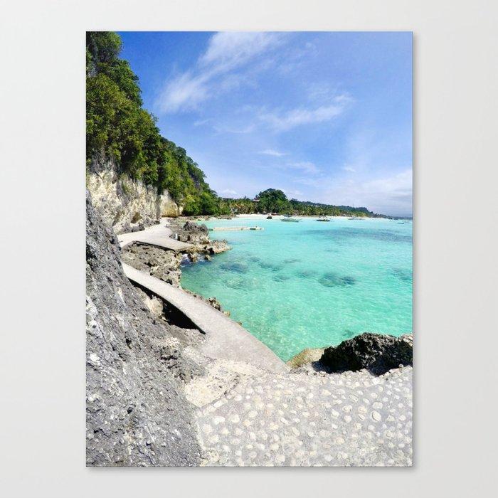 Boracay Bay Canvas Print