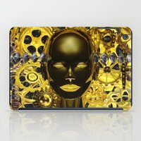 android iPad Cases featuring Android Clockwork by Magmata