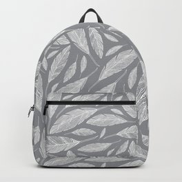 Float Like A Feather - Grey Backpack
