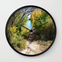 Down to the Lake Wall Clock