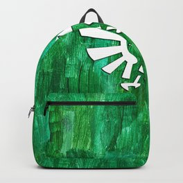 Zelda Triforce Painting Backpack