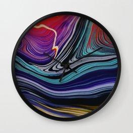 Lava Love Wall Clock