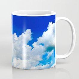 Clouds in a Clear Blue Sky Coffee Mug
