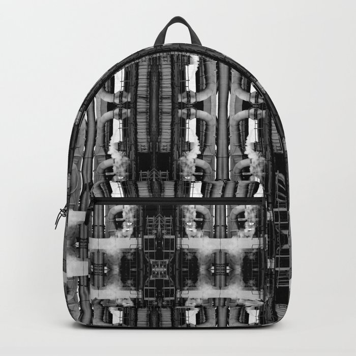 Dissemination in Black and White Backpack