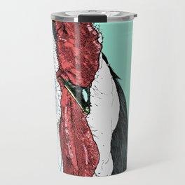 Rooster II Color Travel Mug