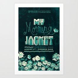My Morning Jacket Art Print