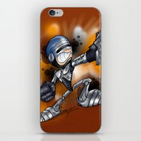 robocop iPhone & iPod Skins featuring Robocop by alexviveros.net