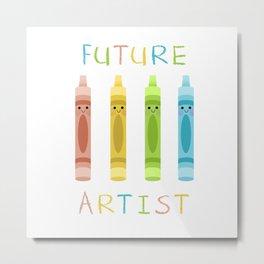 Future Artist Metal Print