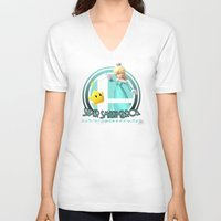 super smash bros V-neck T-shirts featuring Rosalina - Super Smash Bros. by Donkey Inferno