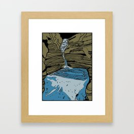 Karijini gorges Framed Art Print