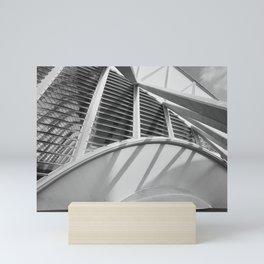City of Arts and Sciences II | C A L A T R A V A | architect | Mini Art Print