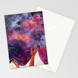 Women Hold Up Half the Sky Stationery Cards