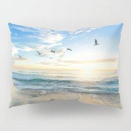 Beach Scene 34 Pillow Sham