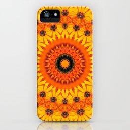 mandala of optimism iPhone Case