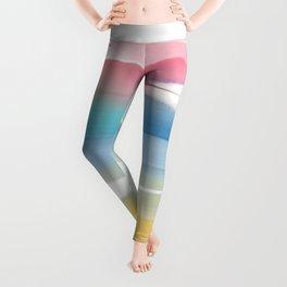 Abstraction artprint Leggings