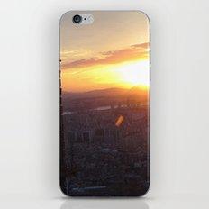 Sunset in Seoul iPhone & iPod Skin