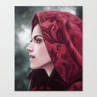 ruby Canvas Prints featuring Ruby by Svenja Gosen