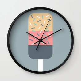 Popsicle (Blue) Wall Clock