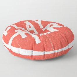Play Hard Floor Pillow