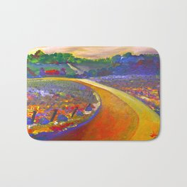 The Road to Chateau Chantal Bath Mat