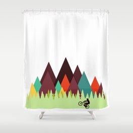 MTB Shower Curtain