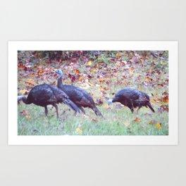 Family Feast Art Print
